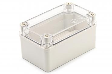 BJ-130807PT Junction Box With Mounting Plate and Clear Cover