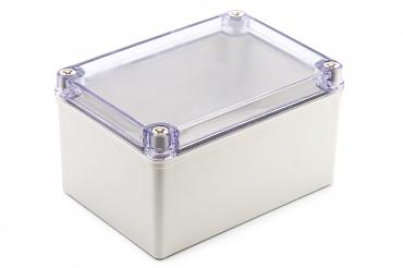 BJ-171210PT Junction Box With Mounting Plate and Clear Cover