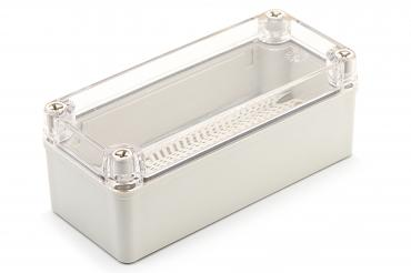BJ-180807PT Junction Box With Mounting Plate and Clear Cover