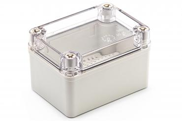 BJ-110807PT Junction Box with Mounting Plate and Clear Cover