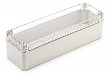 BJ-250807PT Junction Box With Mounting Plate with Clear Cover