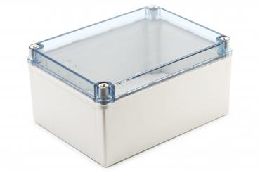 BJ-201510PT Junction Box With Mounting Plate with clear cover